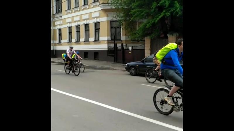 ВЕЛОПРОБЕГ Харьков 20,05,2018