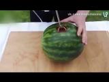 Как сделать арбузный сок