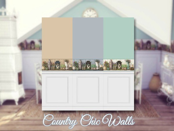 Country Chic Walls by Sooky
