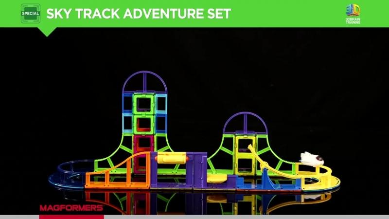Видеообзор набор Magformers Sky Track Adventure Set