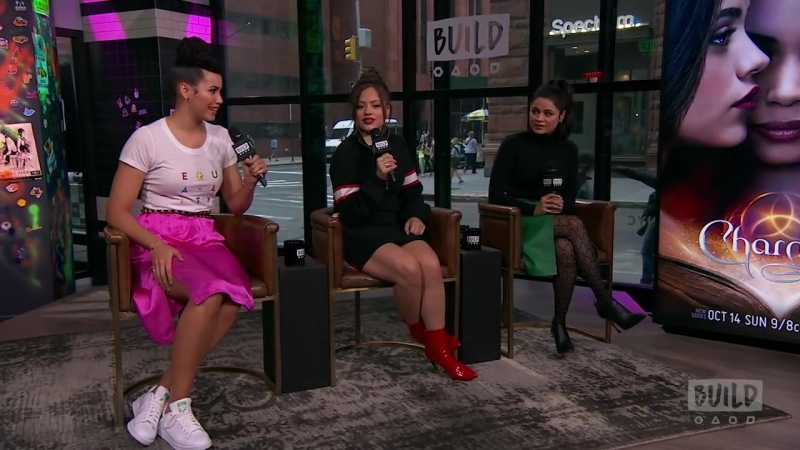 Melonie Diaz, Sarah Jeffery Madeleine Mantock Discuss The Charmed Reboot