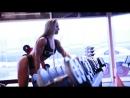 Alina Pettke Польша - красивая фитнес-бикини модель. Фотосессия в фитнес зале. Рекомендую!