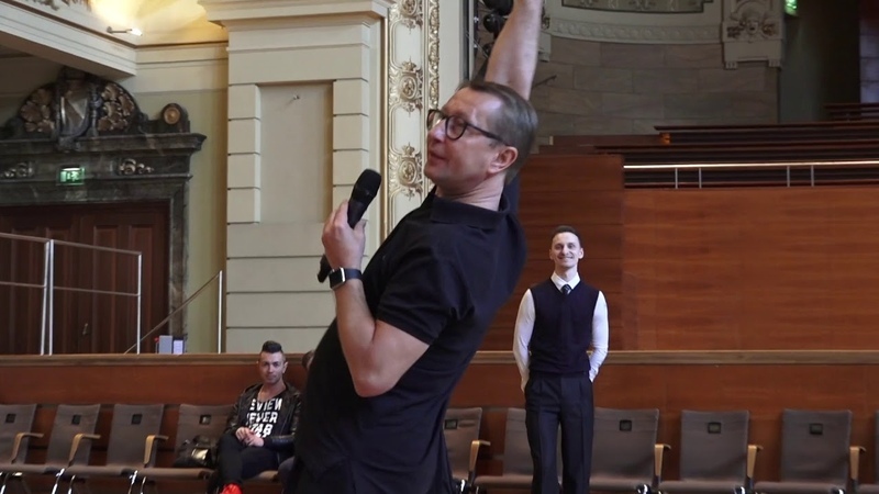 THE CAMP 2017 Ballroom Lecture on Swing by Alexandr Melnikov