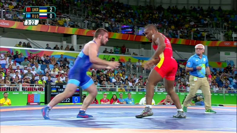Rio Replay Mens Greco Roman 85kg Gold Medal