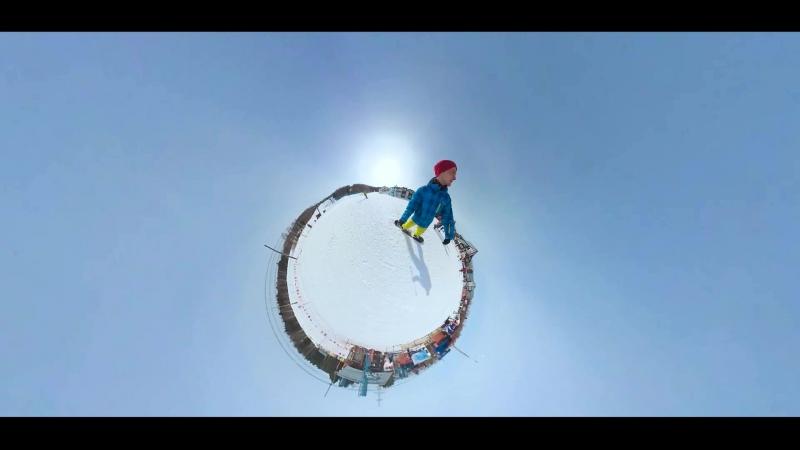 Реклама камеры с обзором 360 градусов