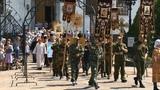 К 100-летию расстрела царской семьи в Кузнецке провели крестный ход