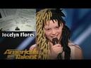 Girl Sings Jocelyn Flores On America's Got Talent!