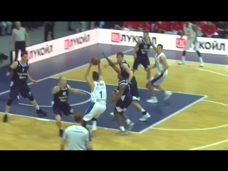 Баскетбол. Единая Лига ВТБ Цмоки-Минск 83:93 ЦСКА М