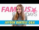 Jayden Bartels Q A