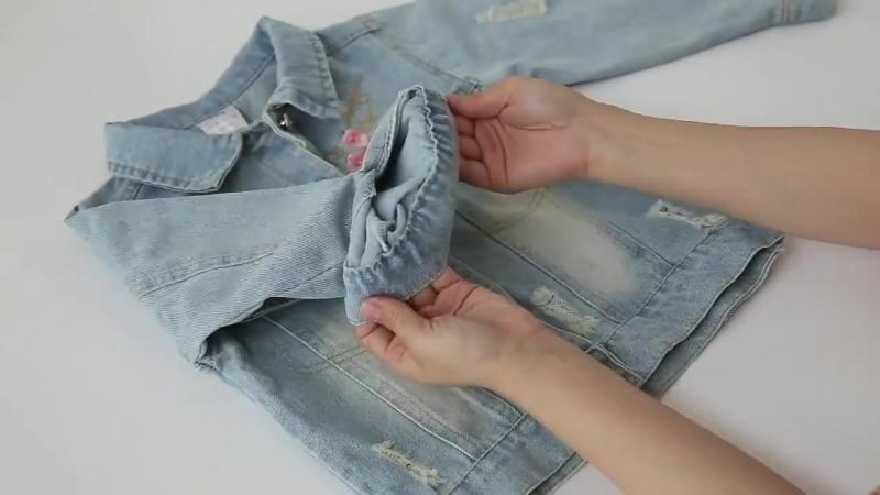 Джинсовая куртка Сакура