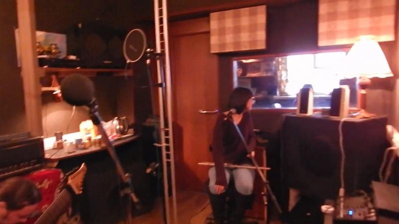 Джем в студии Церкви святой Екатерины - Крис и флейта 2