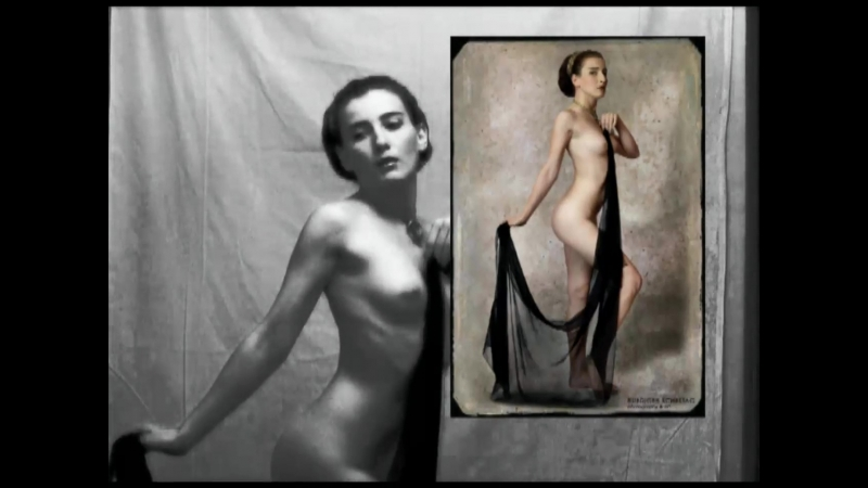 """Nude photography in St. Petersburg """"making of"""" no1"""