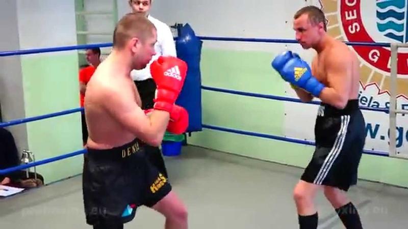 22.01.2015 Deniss Aleksejevs (LAT) VS Juris Ivanovs (LAT) proboxing.eu