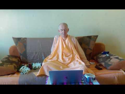BVV Narasimha Swami, SB 6.3.18 Blagoveshchensk, 01.08.2018 (Eng-Rus)