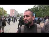 Chemnitz Migrant erklärt vor laufender Kamera, warum er AfD wählt (komplett)