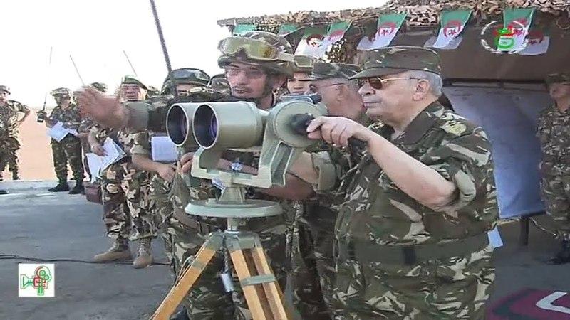 الجيش الجزائري - الإسناد الطبي الميداني قد