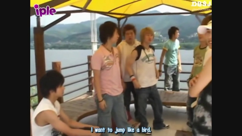 [ENG] Funny Super Junior Bungee Jumping Trip