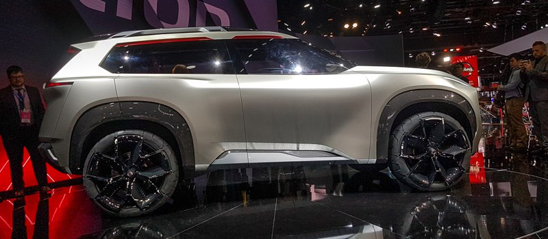 Новый Nissan: он может испугать даже взрослого