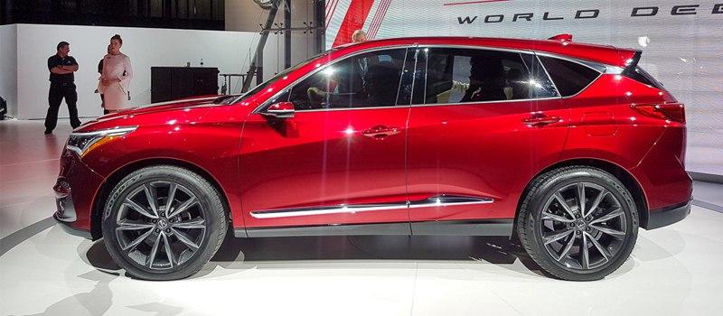Новый кроссовер Acura — обошлось без дизайнерских революций