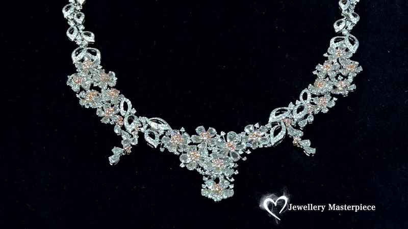 HYT Jewellery natural pink diamond necklace