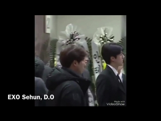 171220 Korean star visits Jonghyun funeral (EXO, Highlight, WANNA ONE, SUJU.)