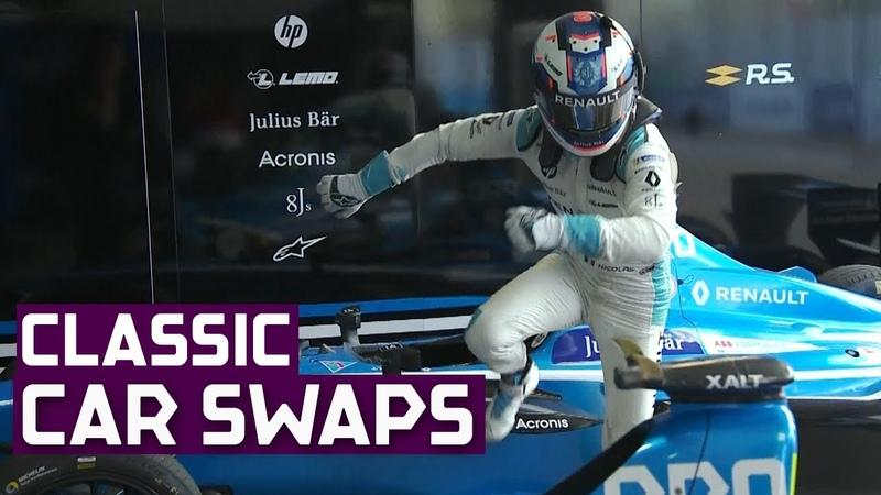 Goodbye Car Swaps A Slow Motion Tribute ABB FIA Formula E Championship