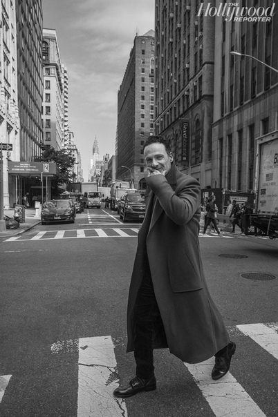 Эндрю Линкольн The Hollywood Reporter, Ноябрь 2018