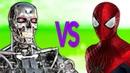 ЧЕЛОВЕК ПАУК VS ТЕРМИНАТОР СУПЕР РЭП БИТВА Spiderman Movie фильм ПРОТИВ Terminator Game
