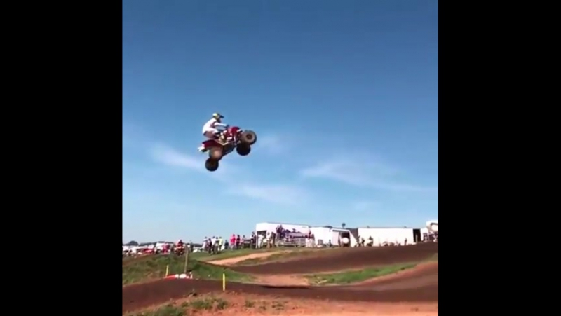 Damn!! This triple is BIG!😳 Do you think it's harder on a quad?