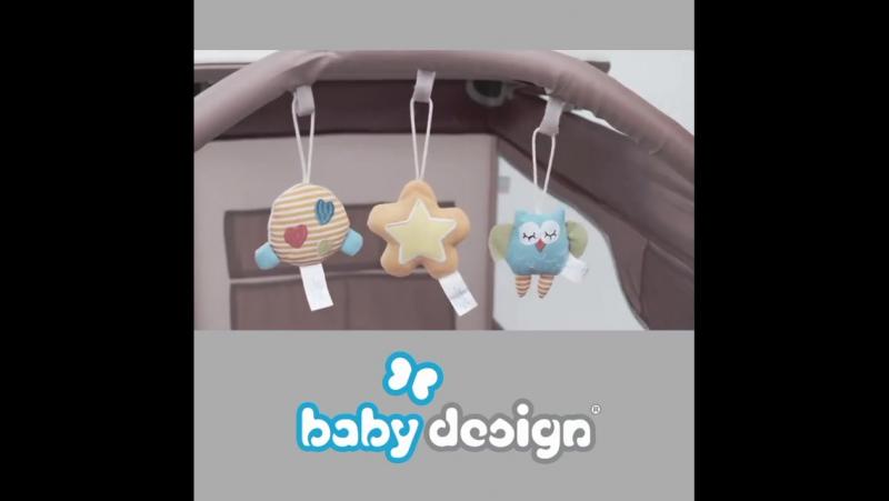Кровать-манеж BABY DESIGN DREAM