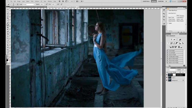 Как сделать призрака в Photoshop