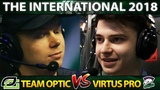 VP vs OPTIC - CIS vs NA TOP 6 ELIMINATION #TI8 - THE INTERNATIONAL 2018 DOTA 2
