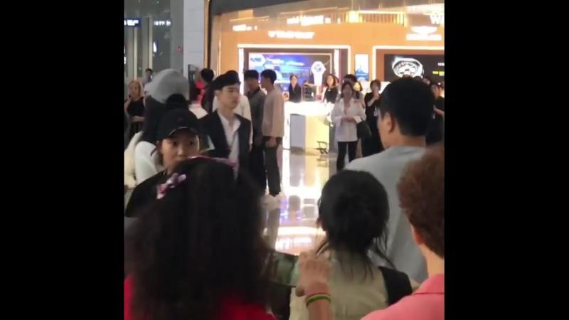 17.09.2018 || Fox Bride Star || Where Stars Land shooting (Lee Je Hoon, Chae Soo Bin, Ejay Falcon)