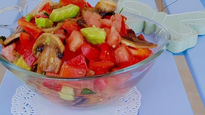Новый вкусный салат Вы еще не пробовали такую вкуснятину Рецепты салатов.