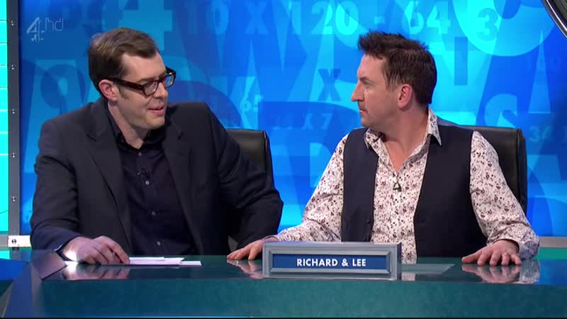 8 out of 10 Cats does Countdown S01E02 (19.04.2012)