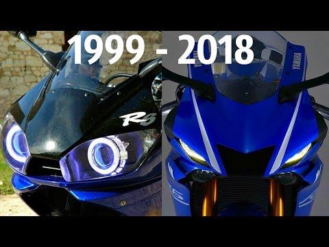 😍 Yamaha YZF-R6 ! Все Поколения в ОДНОМ Видео 😃!