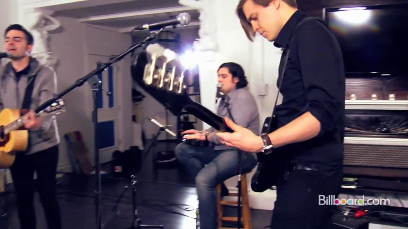 The Boxer Rebellion Step Out of the Car Billboard Studio Session 2011