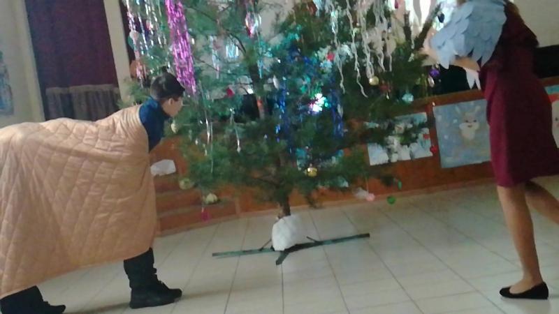 Новогодняя сказка Петушок и бобовое зернышко 6 класс