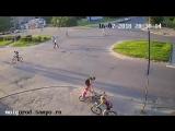 Велосипедисты столкнулись в Петрозаводске