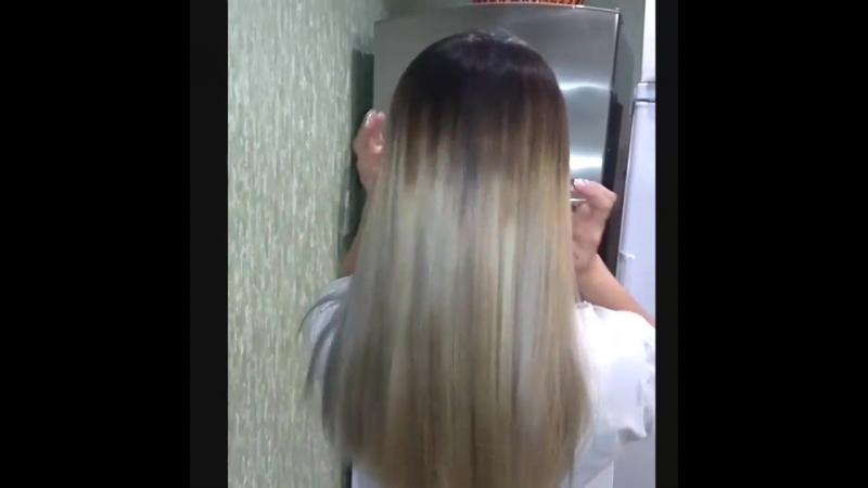 Окрашивание волос в блонд