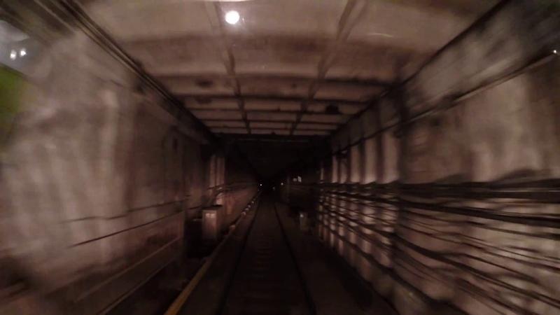 от Водного Стадиона до ... или почему поезда метро стоят в туннеле