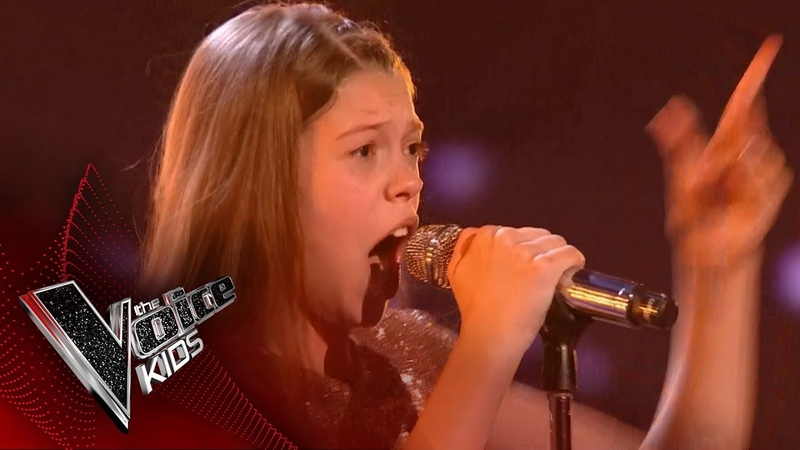 Courtney performs 'And I'm Telling You': Live Final   The Voice Kids UK 2017