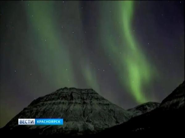 Норильчане делятся в социальных сетях видео и фотографиями северного сияния