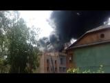 Пожар на Полярной, 11. Северодвинск.