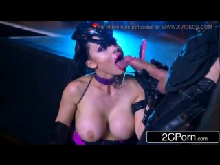 Oversnatch: a xxx parody starring hungarian beauty aletta ocean [latex porn girl fetish латекс порно фетиш]