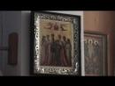 Икона Святых Царственных Страстотерпцев в алтаре старого храма