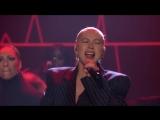 Christina Aguilera_ Fall in Line 14 06 2018  телешоу Джимми Фэллона   Нью-Йорк , США.