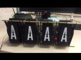 DIY Split-flip display prototype