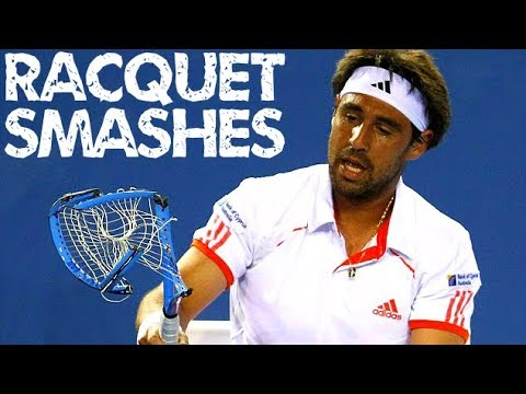 Best Racquet Smashes of All Time - Tennis Player Smashes