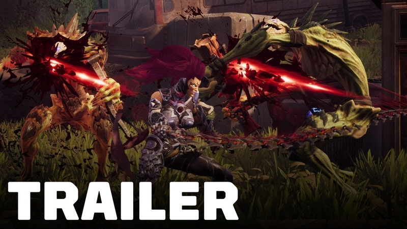 [Норка Орка] Darksiders 3: Fury's Apocalypse Countdown to Launch Trailer